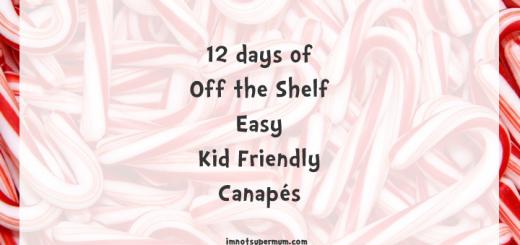 12 days of Canapés