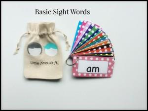 LKIA - Basic Sight Words Flash Cards