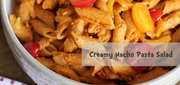 Creamy Nacho Pasta Salad
