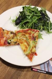 WOOP Salami, Mushroom Capsicum Pizza