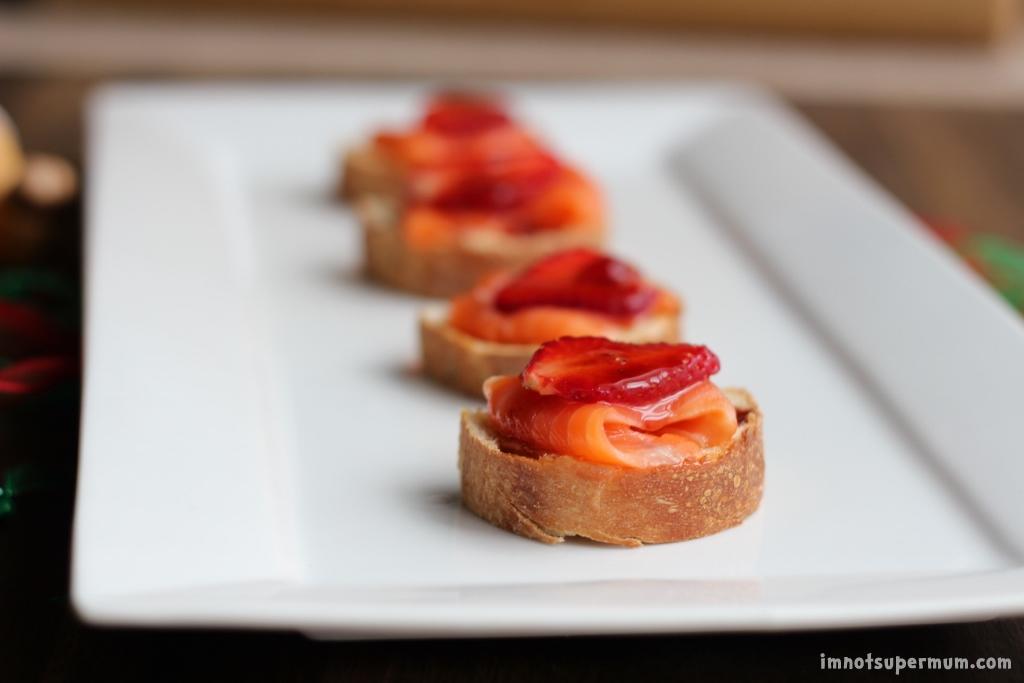 Sriracha Strawberry & Salmon